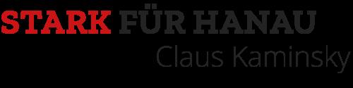 Claus Kaminsky – Stark für Hanau Logo